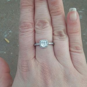 Pandora sterling silver ring 54/ 7